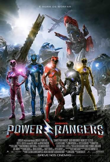Filme 'Power Rangers' estreia dia 23 de março