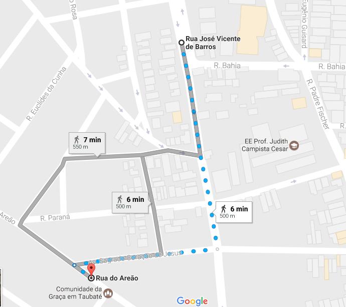 Prefeitura de Taubaté altera sentido em avenida na Vila São Geraldo