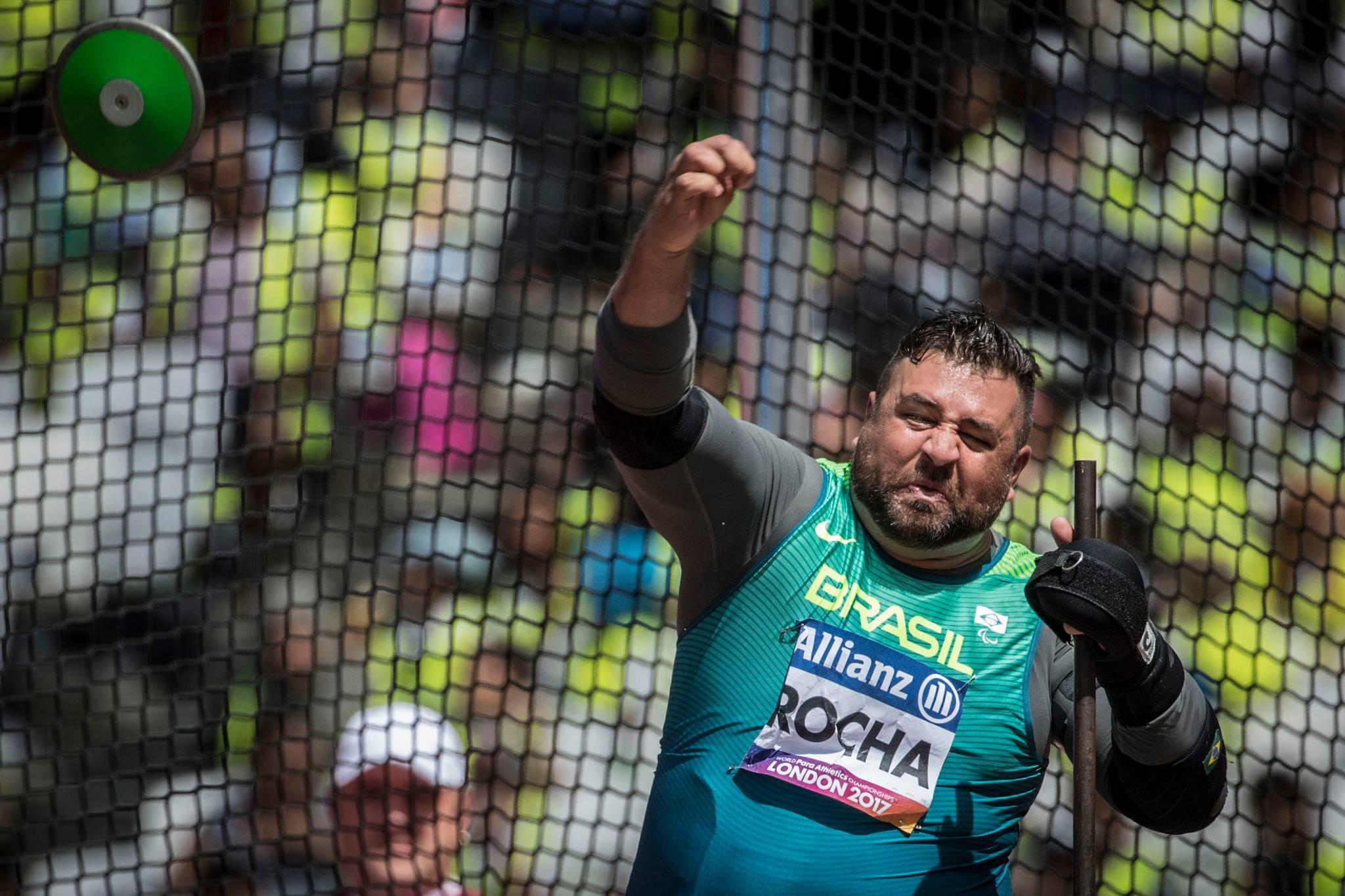 André Rocha é campeão mundial de Paratletismo em Londres