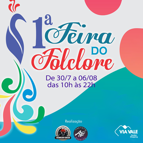 Folclore é tema de feira no shopping Via Vale