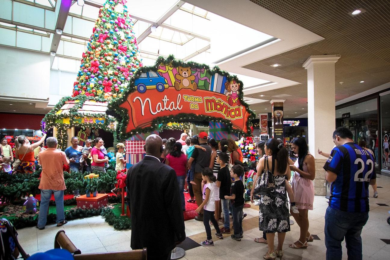 Turma da Mônica será responsável pela produção de presentes do Papai Noel