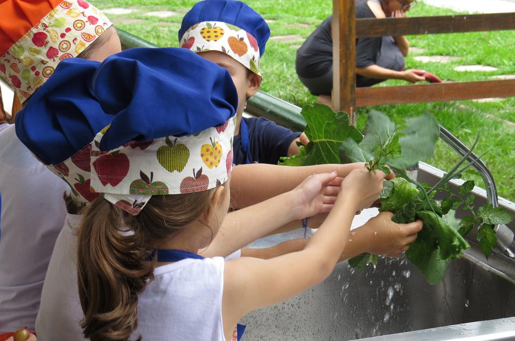 Culinária para crianças no Sesc Taubaté