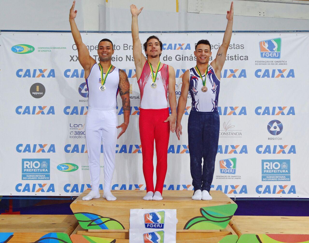 Atleta de Pinda é campeão no Torneio Nacional de Ginástica Artística