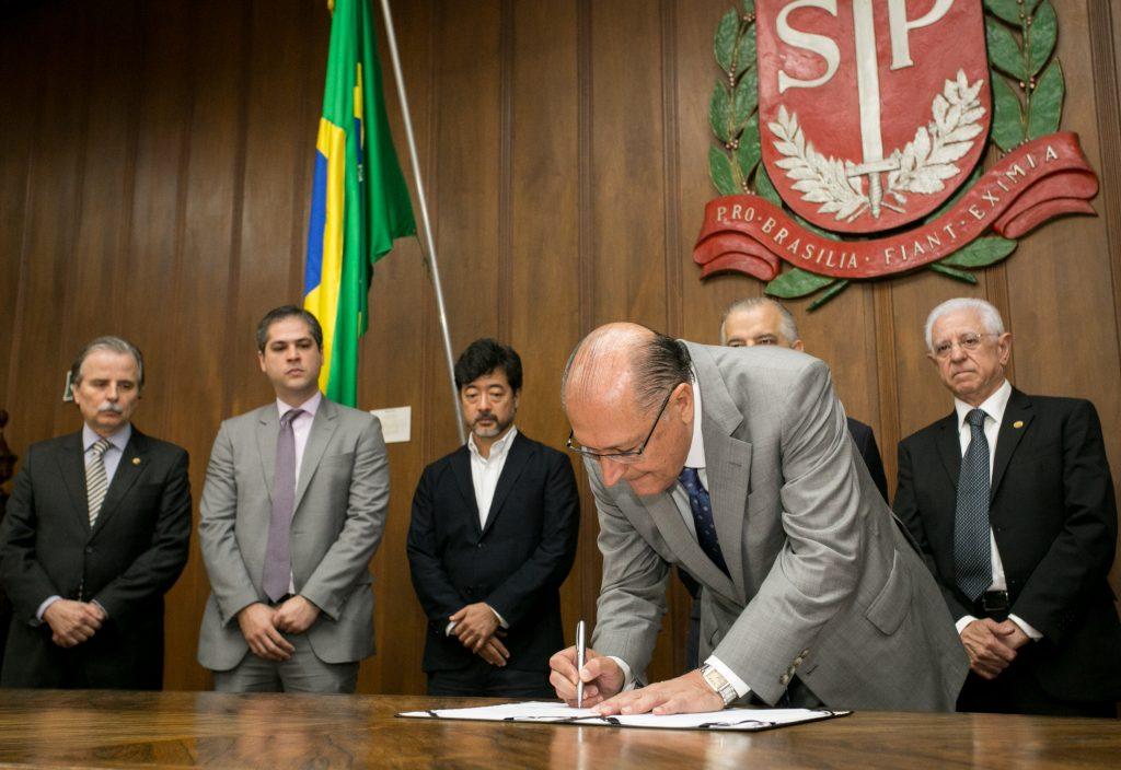 Alckmin assina convênios com TCE para ampliar transparência e controle externo